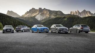 Audi A4, sul Model Year 2021 tante versioni mild hybrid