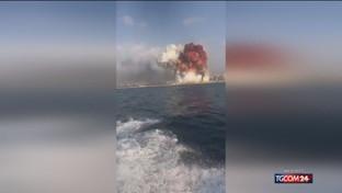 Beirut, due esplosioni sconquassano la città