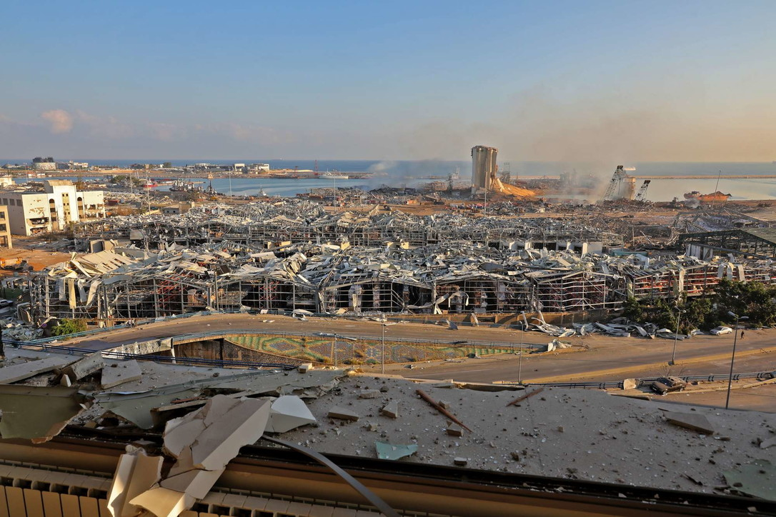 Il day after di Beirut, la città devastata dopo le esplosioni