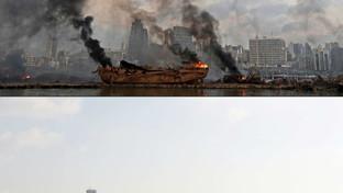 Beirut, un cumulo di polvere: ecco cosa rimane del deposito esploso