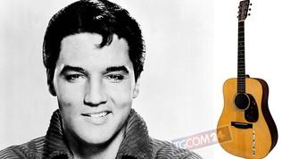 Asta record per la chitarra acustica di Elvis:vendutaper oltre 1 milione di dollari