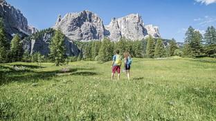 Alto Adige: picnic in quota in Alta Badia