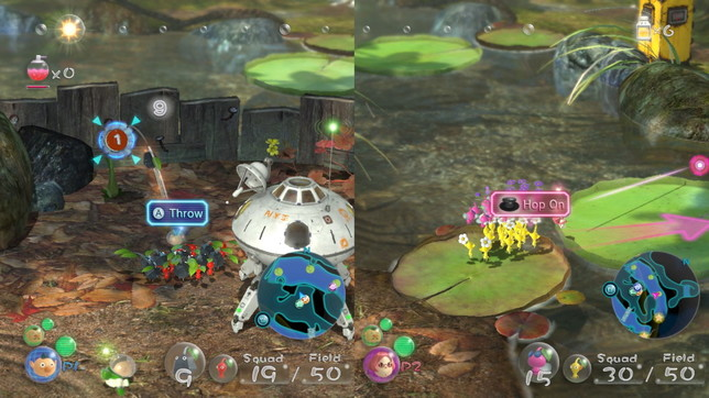 Pikmin 3 Deluxe: prime immagini del debutto dei Pikmin su Switch