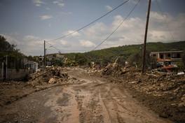 Grecia, una tempesta devasta l'isola Eubea