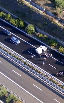 Foggia, assalto a un portavalori sulla A14: spari e autostrada bloccata
