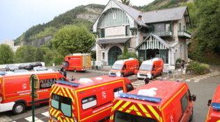 Lourdes, fulmine su funicolare: 12 feriti