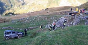 Auto finisce fuori strada sulle montagne del Cuneese: morti cinque giovani
