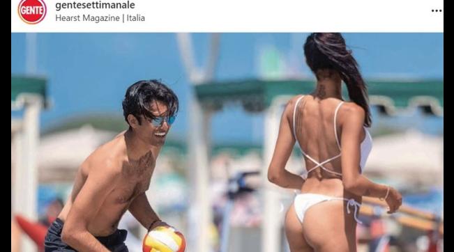 Matteo Bocelli distratto dalle curve di Miss Italia