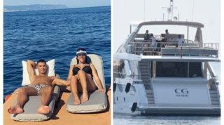 Cristiano Ronaldo finalmente in vacanza: sullo yacht è tutto per Georgina