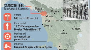 L'eccidio nazista di Sant'Anna di Stazzema, 560 le vittime