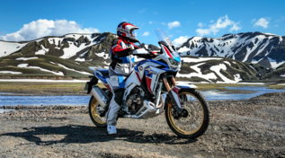 In sella alla Honda CRF1100L Africa Twin