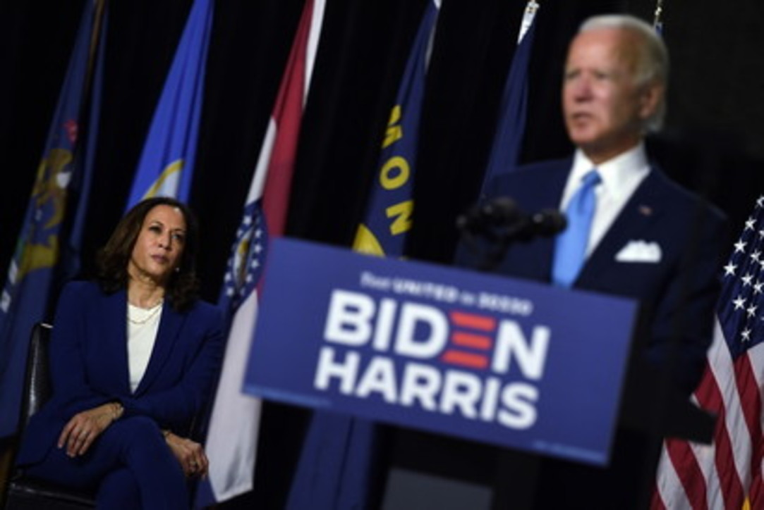Usa 2020, prima uscita del ticket Biden-Harris