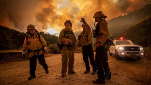 Usa, enorme incendio in California: 500 famiglie evacuate