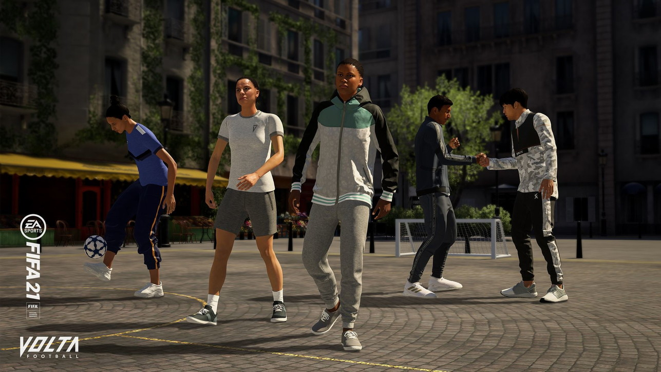 FIFA 21, le immagini della rinnovata modalità Volta Football