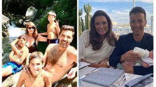 Buffon al fiume e Seredova in spiaggia, la nuova felicità degli ex in Toscana