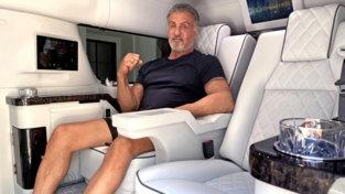 Sylvester Stallone mette in vendita ilsuo Suv dei sogni: un appartamento su quattro ruote
