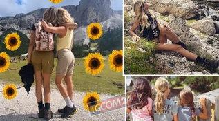 Una montagna per due, Elena Santarelli e Alessia Marcuzzi insieme sulle Dolomiti