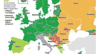 Coronavirus, da quali Paesi europei si può venire in Italia