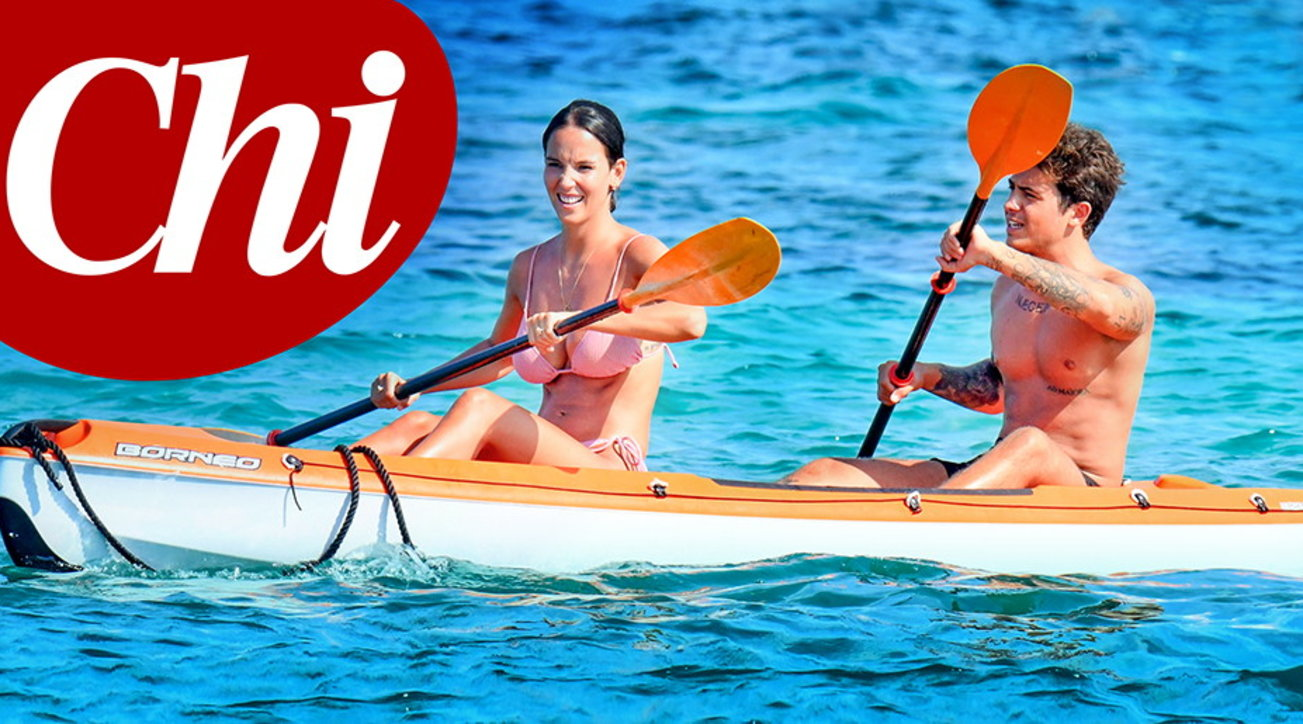 Paola Di Benedetto e Federico Rossi in Sardegna tra amore e divertimento