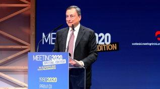 """Coronavirus, Draghi: """"Bene i sussidi ma per i giovani occorrono investimenti"""""""