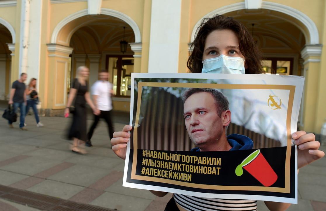 Alexei Navalny l'oppositore russo in coma all'ospedale di Omsk in Siberia