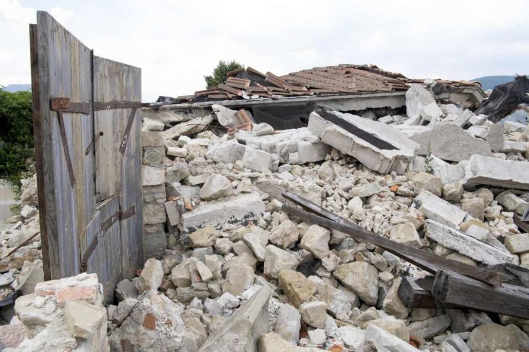 Amatrice, il sisma e la distruzione quattro anni fa