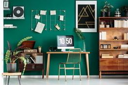 Casa, un home office accogliente e funzionale
