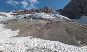 Allarme per il ghiacciaio della Marmolada: ha 15 anni di vita