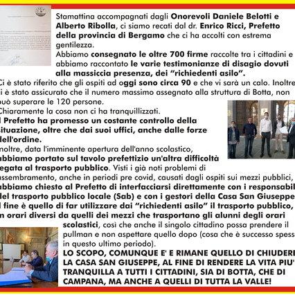 """Richiesta Lega Bergamo: """"Migranti sugli autobus solo in determinati orari, serve spazio per studenti e paesani"""", È la polemica"""