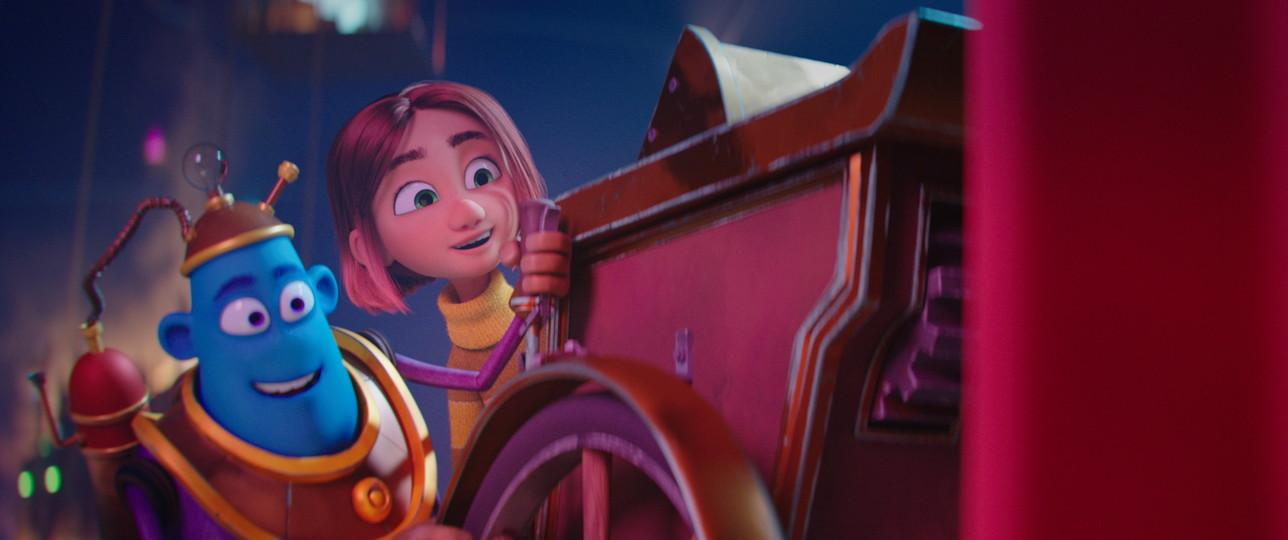 """""""Dreambuilders - La fabbrica dei sogni"""", le immagini del film d'animazione"""