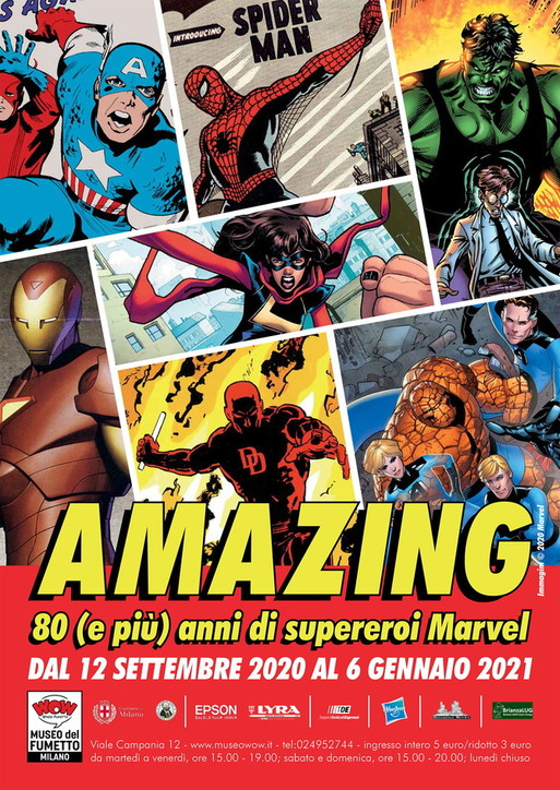 AMAZING! -80 anni (e più) di supereroi Marvel