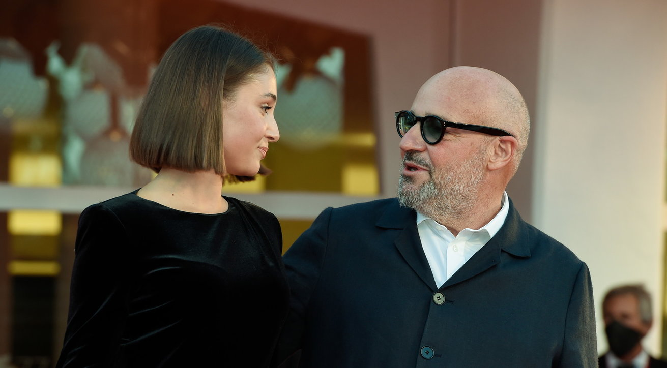 Gianfranco Rosi porta in passerella la figlia Emma