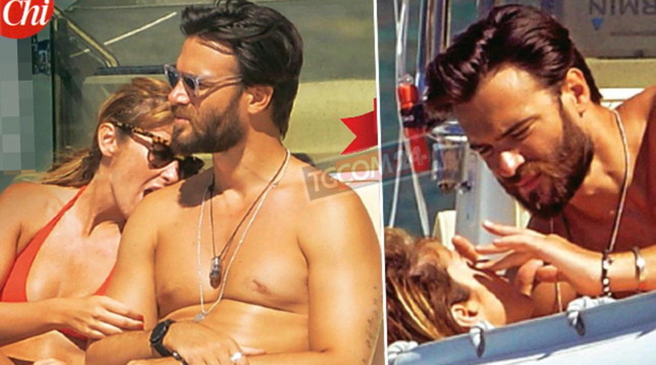 Maria Elena Boschi e Giulio Berruti tra bikini e baci calienti