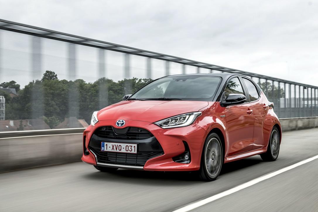 Le nuove desinenze di Toyota Yaris