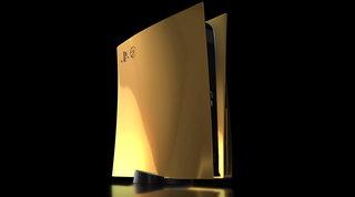 Videogiochi: svelata un'edizione limitata di PS5 fatta di oro a 24 carati