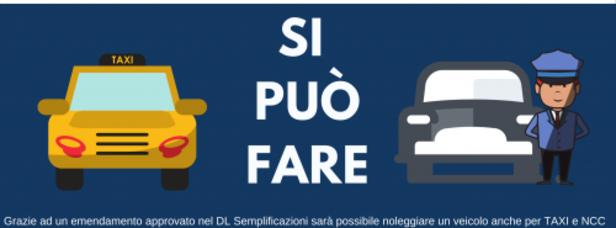 I tassisti potranno noleggiare le auto (dopo 10 anni di battaglie...)