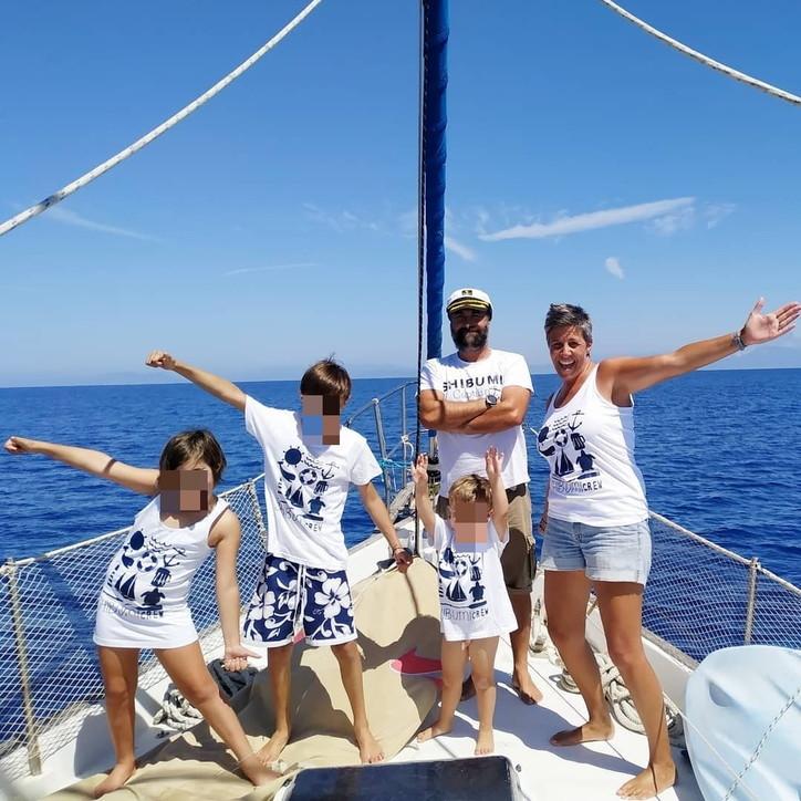 La famiglia Barberis lascia Milano per raggiungere i Caraibi in barca a vela