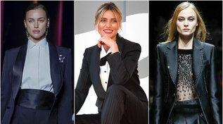 Moda donna autunno 2020, il tuxedo: lo smoking al femminile e lo stile 'boyish'