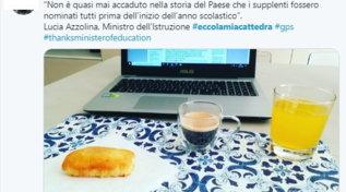 #eccolamiacattedra: la protesta dei precari della scuola invade i social