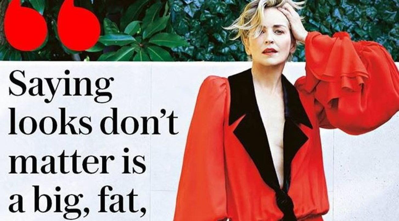 Sharon Stone, una bellezza senza età