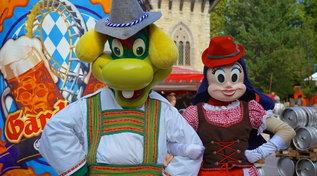 Gardaland reinterpreta la Oktoberfest