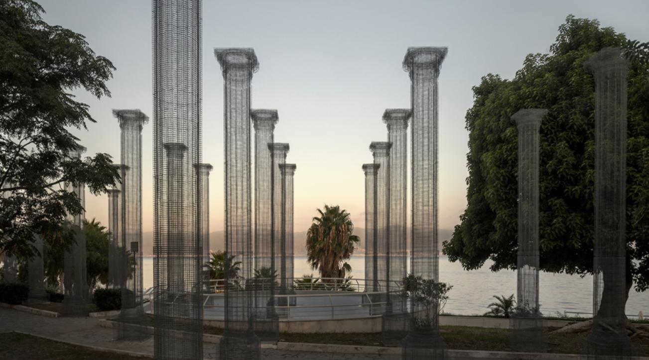 Reggio Calabria, inaugurata Opera: l'installazione permanente di Edoardo Tresoldi