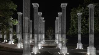 """Reggio Calabria, inaugurata """"Opera"""": l'installazione architettonica di Edoardo Tresoldi"""