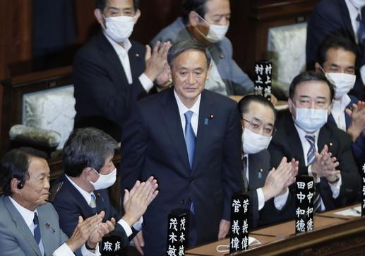 Giappone, Yoshihide Suga è il nuovo primo ministro
