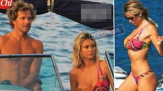 Al lago con Diletta Leotta spunta l'affascinante Marco