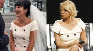 Lily Allen e il vestito da sposa copiato... a Maria De Filippi