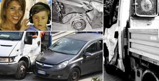 """La morte di Gioele e Viviana, le foto dell'incidente: """"Non è stato un impatto lieve"""""""