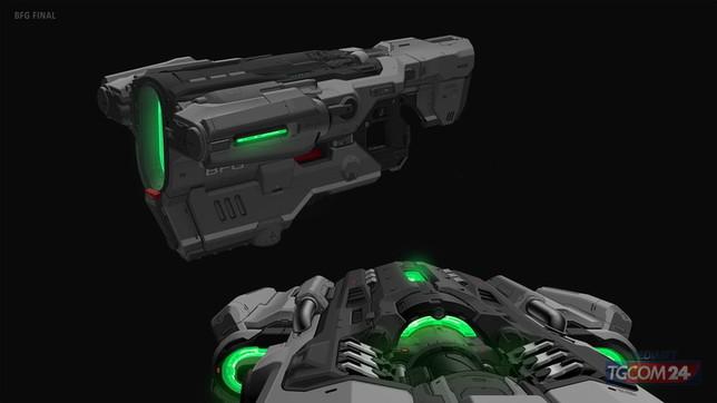 Doom Eternal, vi mostriamo i bozzetti delle armi in esclusiva