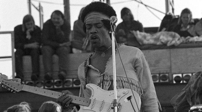 Cinquant'anni senza la chitarra di Jimi Hendrix