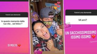 """Michela Quattrociocche sui social: """"Gio ti amo un sacchissimo"""""""